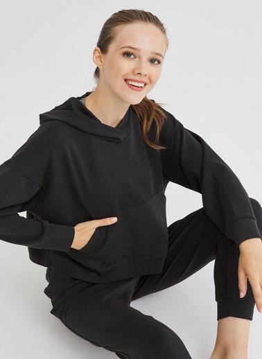 Penti Cupro Sweatshirt Siyah